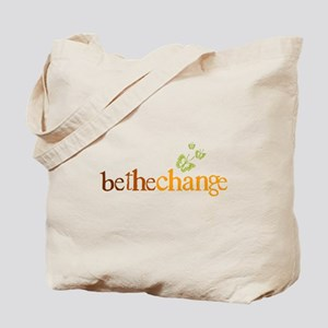 Be the change - Earthy - Butterflys Tote Bag