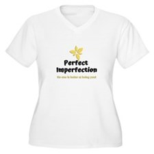 Perfect Imperfection Plus Size T-Shirt