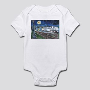 Starry Night Riverboat Infant Bodysuit