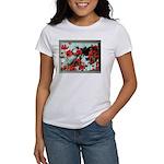Audrey in Poppies Women's T-Shirt