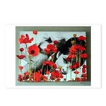Audrey in Poppies Postcards (Package of 8)