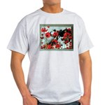 Audrey in Poppies Light T-Shirt