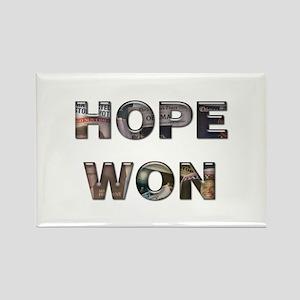 Hope Won Rectangle Magnet