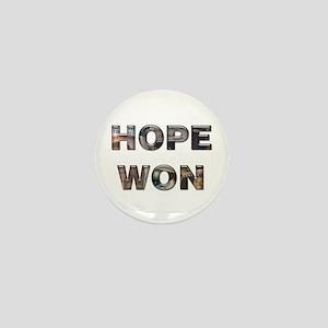Hope Won Mini Button