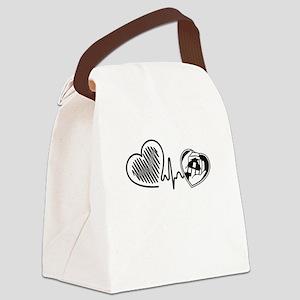 Home Health Aide Canvas Lunch Bag