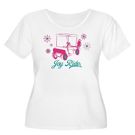 Ladies Golf Joy Ride Women's Plus Size Scoop Neck