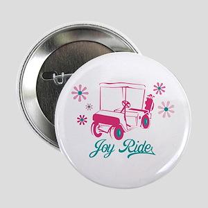 """Ladies Golf Joy Ride 2.25"""" Button"""
