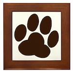 Friendly Paws Framed Tile