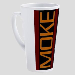 Mini Moke Brown 17 oz Latte Mug
