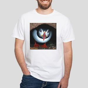 PUFFIN White T-Shirt