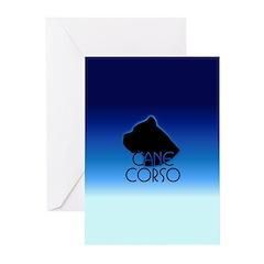 Blue Cane Corso Greeting Cards (Pk of 20)