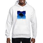 Blue Cane Corso Hooded Sweatshirt