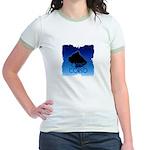 Blue Cane Corso Jr. Ringer T-Shirt