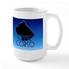 Blue Cane Corso Large Mug