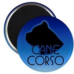 Blue Cane Corso Magnet