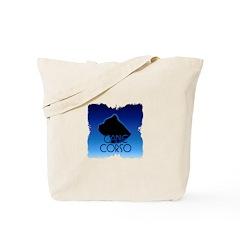 Blue Cane Corso Tote Bag