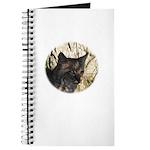 Bobcat in Brush Journal