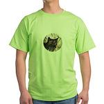 Bobcat in Brush Green T-Shirt