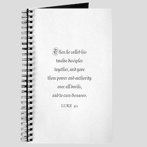 LUKE 9:1 Journal