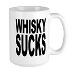Whisky Sucks Large Mug