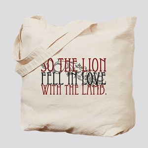 so the lion.. (2) Tote Bag