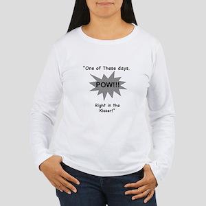 In the Kisser Women's Long Sleeve T-Shirt