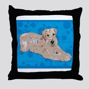 Wheaten Art Throw Pillow