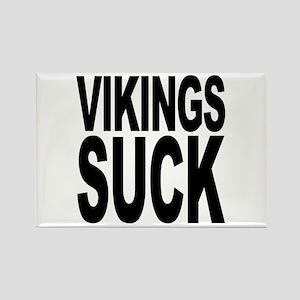 Vikings Suck Rectangle Magnet