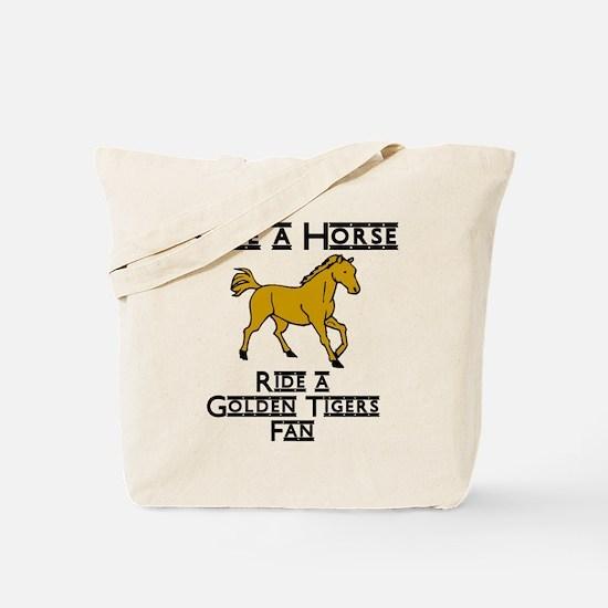 Golden Tigers Tote Bag