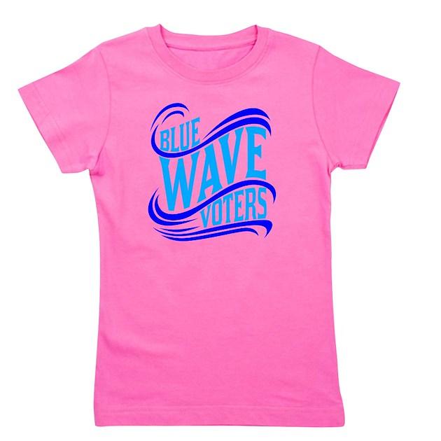 Blue Wave Vote Political Democrat Girl S Tee Blue Wave