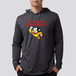 Super Hero Mighty Mouse Long Sleeve T-Shirt