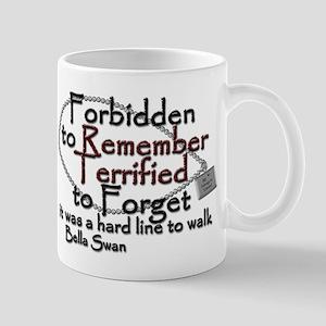 Terrified to forget Mug