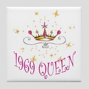 1969 QUEEN Tile Coaster