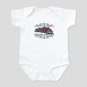 Trucker Scrolls Infant Bodysuit