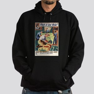 PITCH IN AND HELP! Hoodie (dark)