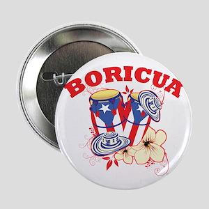 """Puerto Rican Congas 2.25"""" Button"""