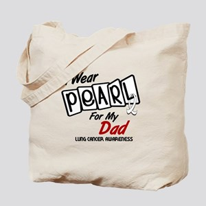 I Wear Pearl For My Dad 8 Tote Bag