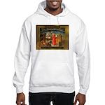 The Divine Comedy fresco Hooded Sweatshirt