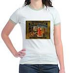 The Divine Comedy fresco  Jr. Ringer T-Shirt