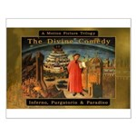 The Divine Comedy fresco Small Poster