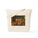 The Divine Comedy fresco  Tote Bag