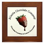 Atlanta Chocolate Company Framed Tile