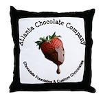 Atlanta Chocolate Company Throw Pillow