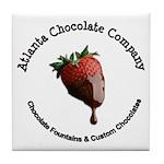 Atlanta Chocolate Company Tile Coaster