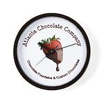 Atlanta Chocolate Company Wall Clock
