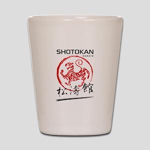 Shotokan Karate Tiger Shot Glass