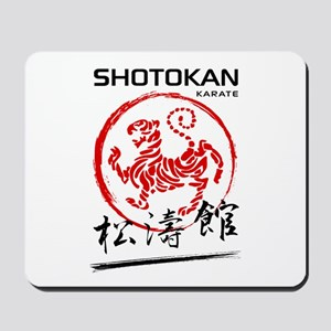Shotokan Karate Tiger Mousepad