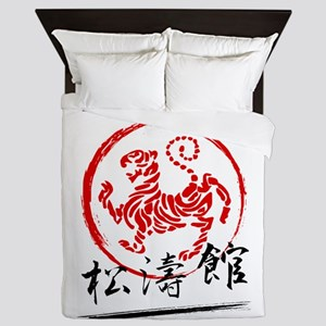 Shotokan Karate Tiger Queen Duvet