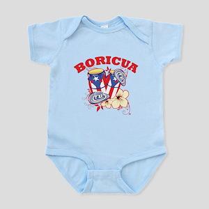 Puerto Rican Congas Infant Bodysuit