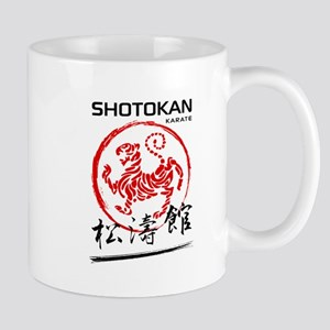 Shotokan Karate Tiger Mugs